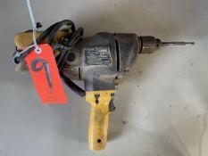 DeWalt 1/2 in. Model DW132 Electric Spade Handle Drill; Type 1