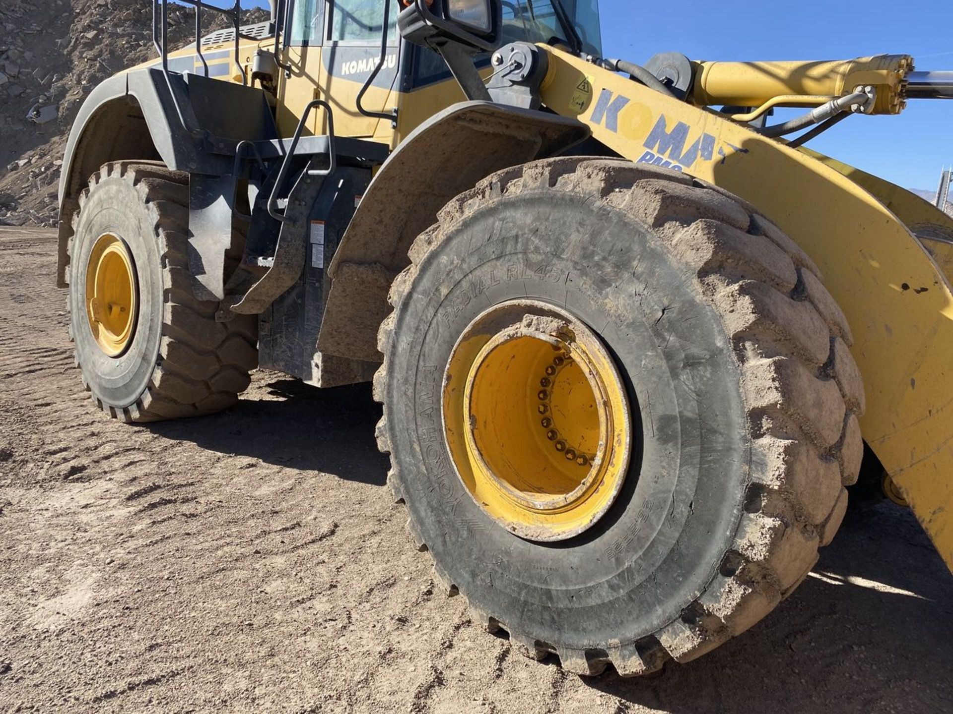 2016 Komatsu WA470-8 Wheel Loader, S/N: A49107, PIN: KMTWA129PGNA49107; with 6,146 Hours (at Time of - Image 12 of 23