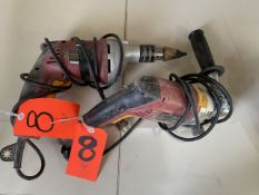 Lot - (2) Chicago 1/2 in. Electric Hammer Drill, S/N's: 372771904 & N/A