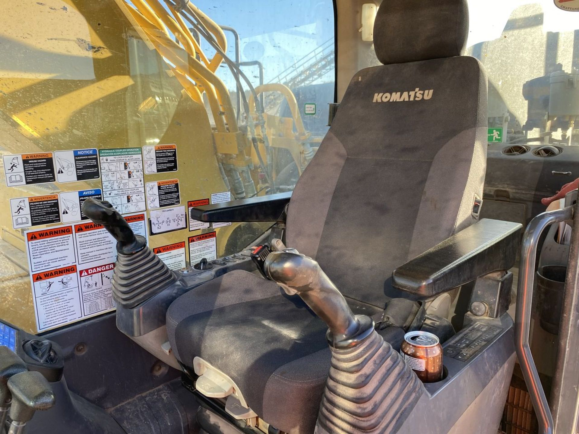 2018 Komatsu PC360LC-11 Hydraulic Crawler Excavator, S/N: A36863, PIN: KMTPC256CJWA36863; with 2,883 - Image 7 of 19