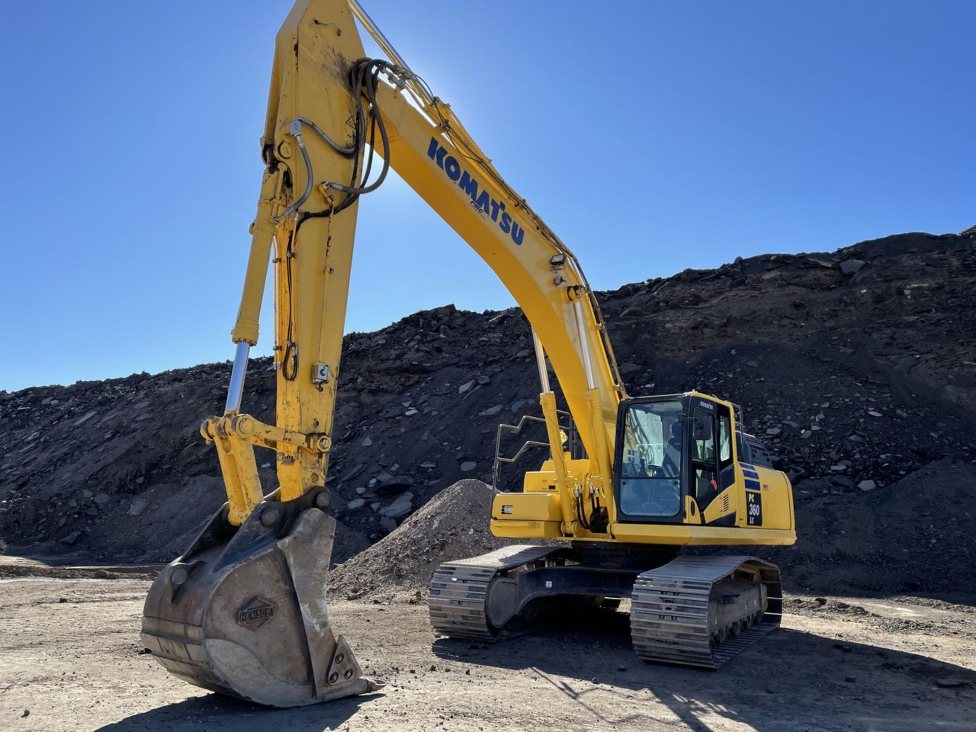 2018 Komatsu PC360LC-11 Hydraulic Crawler Excavator, S/N: A36863, PIN: KMTPC256CJWA36863; with 2,883