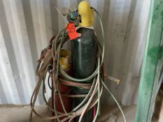 Acetylene Cart; with Torch Hose and Gages (No Tanks)