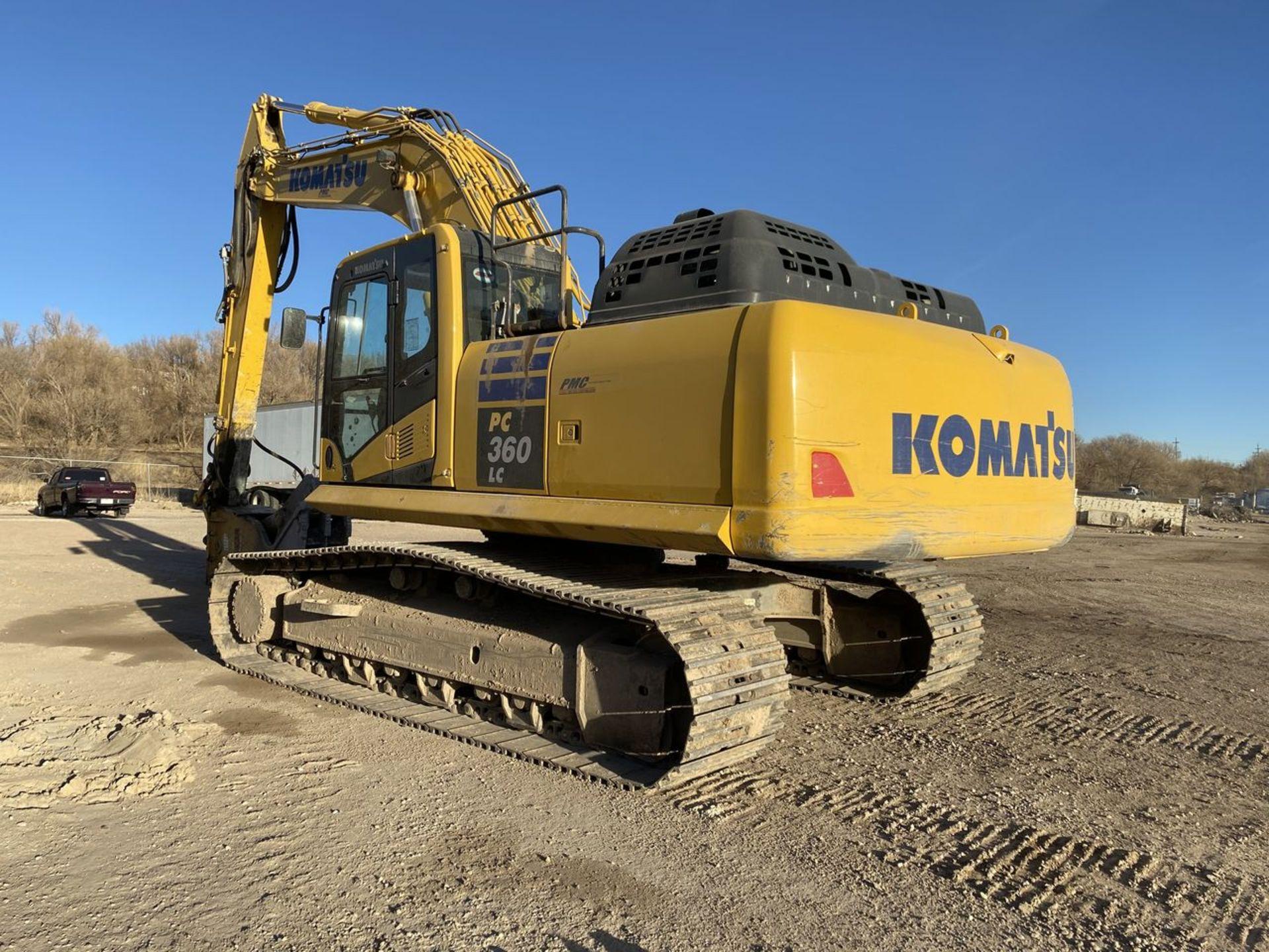 2018 Komatsu PC360LC-11 Hydraulic Crawler Excavator, S/N: A36863, PIN: KMTPC256CJWA36863; with 2,883 - Image 12 of 19