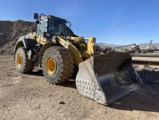 Komatsu WA470-8 Wheel Loader, S/N: A49107, PIN: N/A (2016); with 6,088 Hours (at Time of