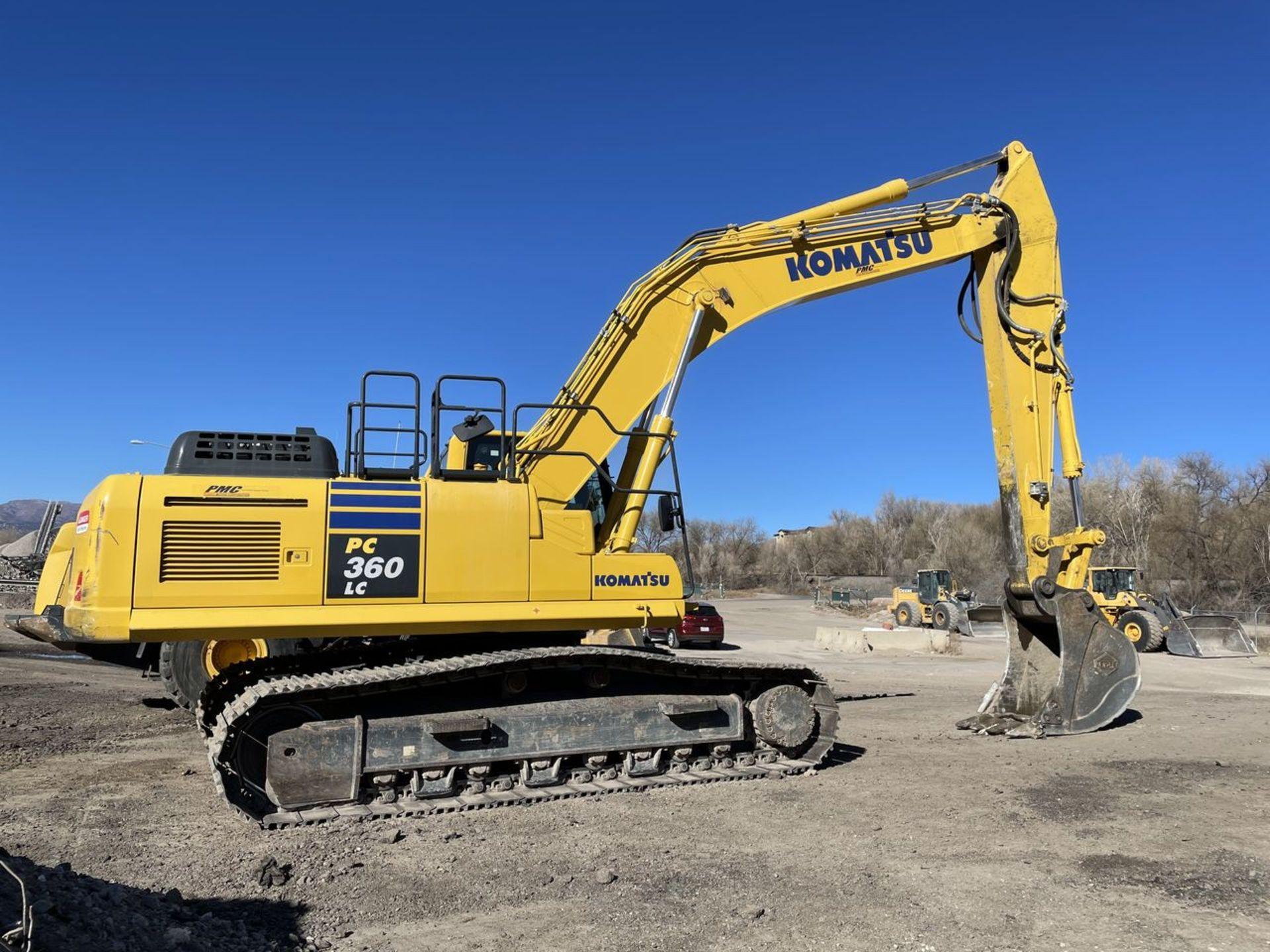 2018 Komatsu PC360LC-11 Hydraulic Crawler Excavator, S/N: A36863, PIN: KMTPC256CJWA36863; with 2,883 - Image 3 of 19