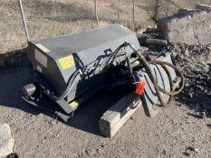 Power Equipment (Peco) 72 in. Model 32084 Skid Steer Broom Atteachment, S/N: 72AGLBRM1505320