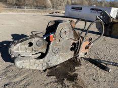 NPK Model U21JR.U211 Hydraulic Pulverizer/Concrete Crusher, S/N: L3984; Bolt-In Replaceable High