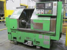 Ikegai Model AX15Z CNC Lathe, S/N: 50143V; with Fanuc CNC Controls, 12-Station Turret, 8 in. 3-Jaw