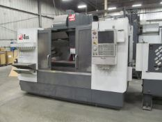 Haas VF-4SSAPC CNC Vertical Machining Center, S/N: 1091757 (2012); with Haas CNC Controls with
