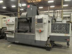 Haas VF-4SSAPC CNC Vertical Machining Center, S/N: 1091790 (2012); with Haas CNC Controls with
