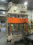 PH Hydraulics 50 U.S. Ton Cap. Model TP-50-5 Four Column (Post) Vertical Hydraulic Die Casting