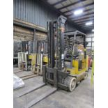 Yale 10,000 lb. Cap. Model ERC100HHN36TV108 Heavy Duty Electric Fork Lift Truck, S/N: C839N01894F;