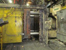 Prince 1,000 U.S. Ton Cap. Model 1043-CCA Horizontal Cold Chamber Aluminum High Pressure Die Casting
