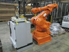 ABB Robot; with ABB Controller, on Stand