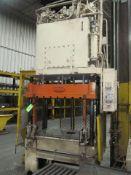 Danly 30 U.S. Ton Cap. Model TP-30-7 Four Column (Post) Vertical Hydraulic Die Casting Trim Press;