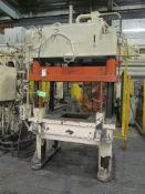 B&T 30 U.S. Ton Cap. Model TP-30-4 Four Column (Post) Vertical Hydraulic Die Casting Trim Press;