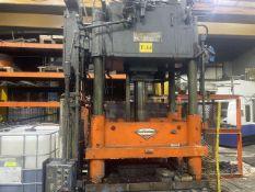 B&T 50 U.S. Ton Cap. Model TP-50 Rapid Press Four Column (Post) Vertical Hydraulic Die Casting