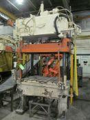 B&T 35 U.S. Ton Cap. Model TP-30-4 Four Column (Post) Vertical Hydraulic Die Casting Trim Press;