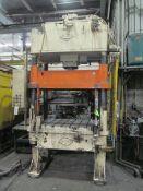 B&T 50 U.S. Ton Cap. Model TP-30-4 Four Column (Post) Vertical Hydraulic Die Casting Trim Press;