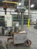 Wedron Flux Molten Metal Processing De-Gasser, S/N: 3131RF