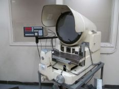 Kodak 14 in. Model 14-2A Optical Comparator; with Metronics Quadra-Chex 2000 2-Axis Digital Read-Out