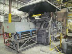 SPX Lindberg/MPH 7,000,000 BTU/Hr. Model 62-ACM-3500-OP Natural Gas Melting Furnace, S/N; 210995 (