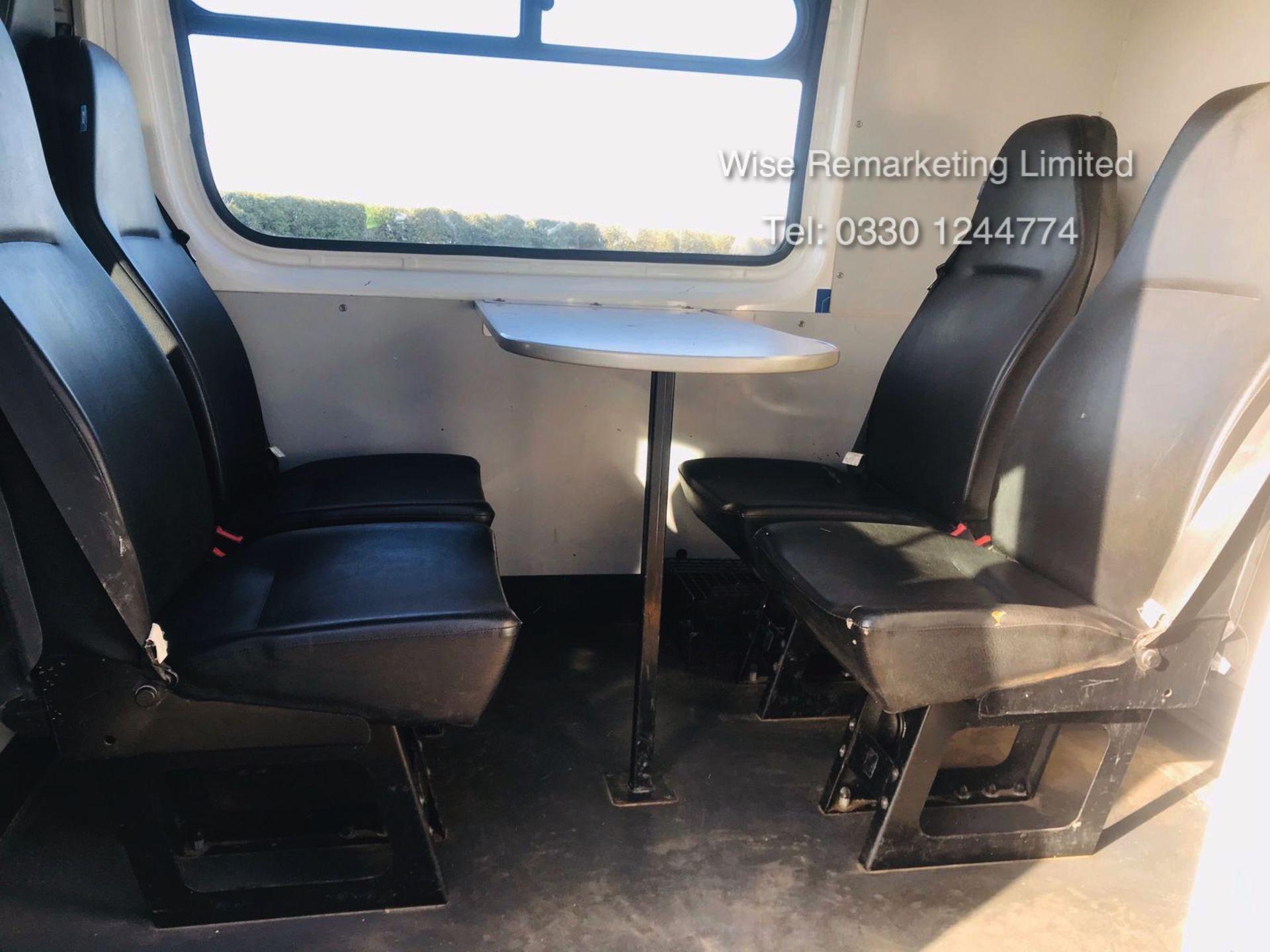 Lot 12 - Volkswagen Crafter 2.0 TDI **8 Seater Messing Unit/Welfare Van** - 2013 Model - 1 Owner - Toilet