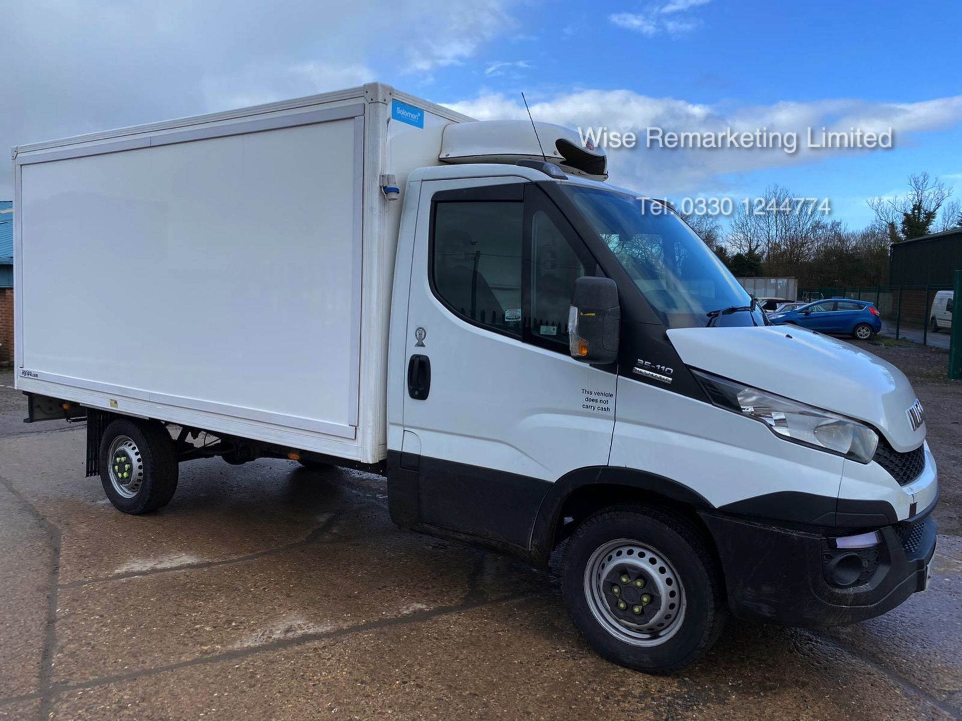 Lot 7 - (RESERVE MET) Iveco Daily 35S11 2.3 TD Fridge/Freezer Box Van - 6 Speed - 2015 15 Reg