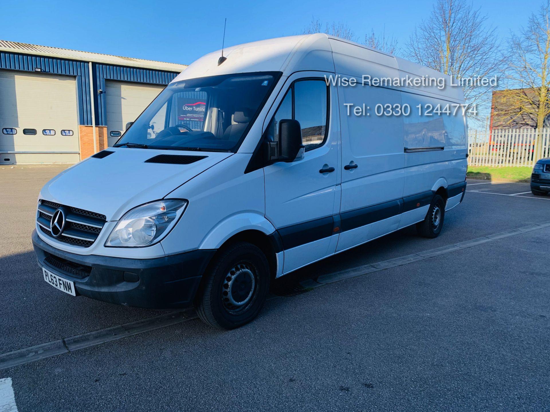 Lot 10 - (RESERVE MET) Mercedes Sprinter 316 2.1 CDI Long Wheel Base High Roof Van - 2014 Model - 1 Owner