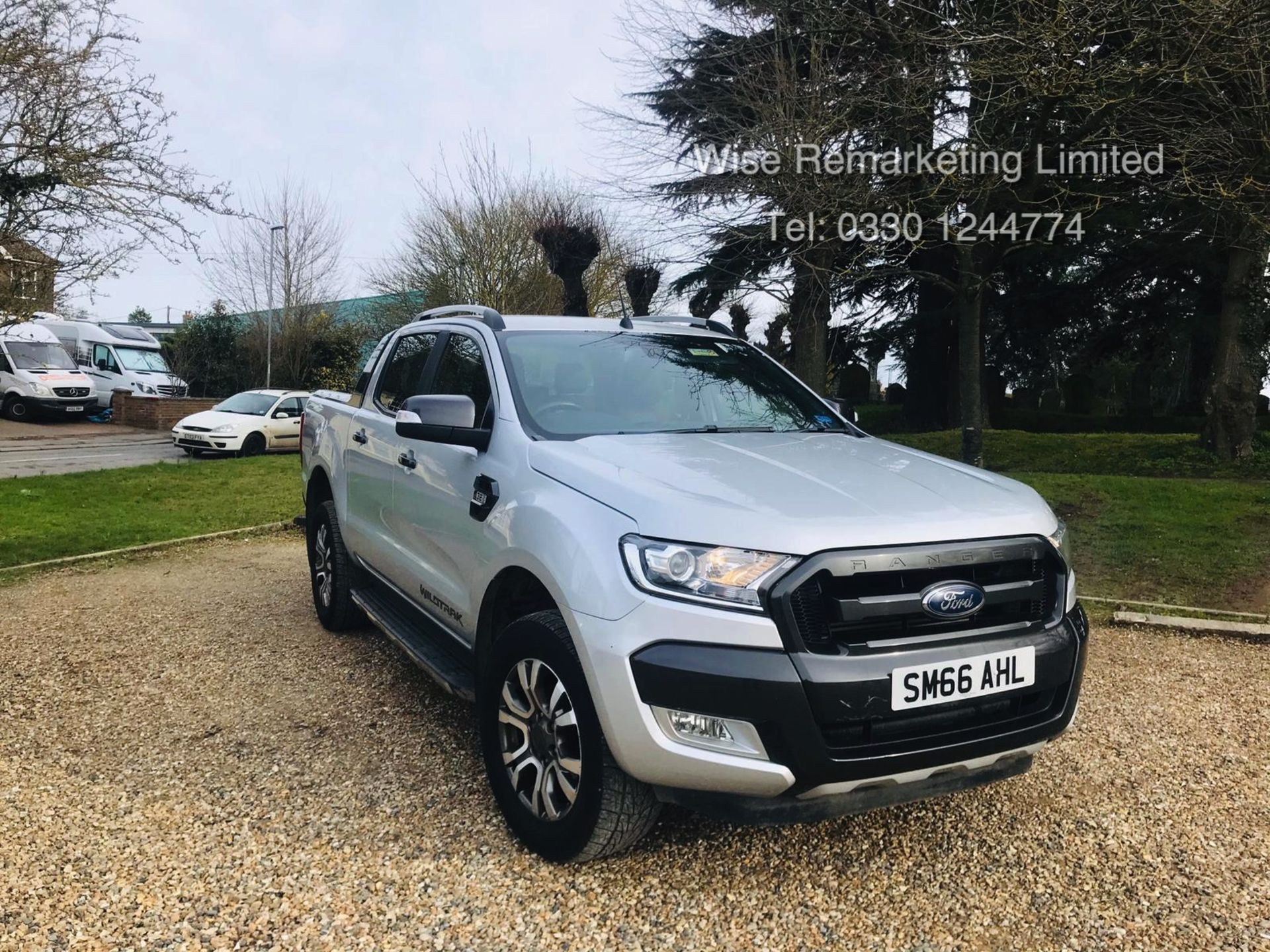 Lot 7a - Ford Ranger 3.2 TDCI WILDTRAK - Auto - 2017 Model - 1 Former Keeper - 4x4 - TOP OF THE RANGE