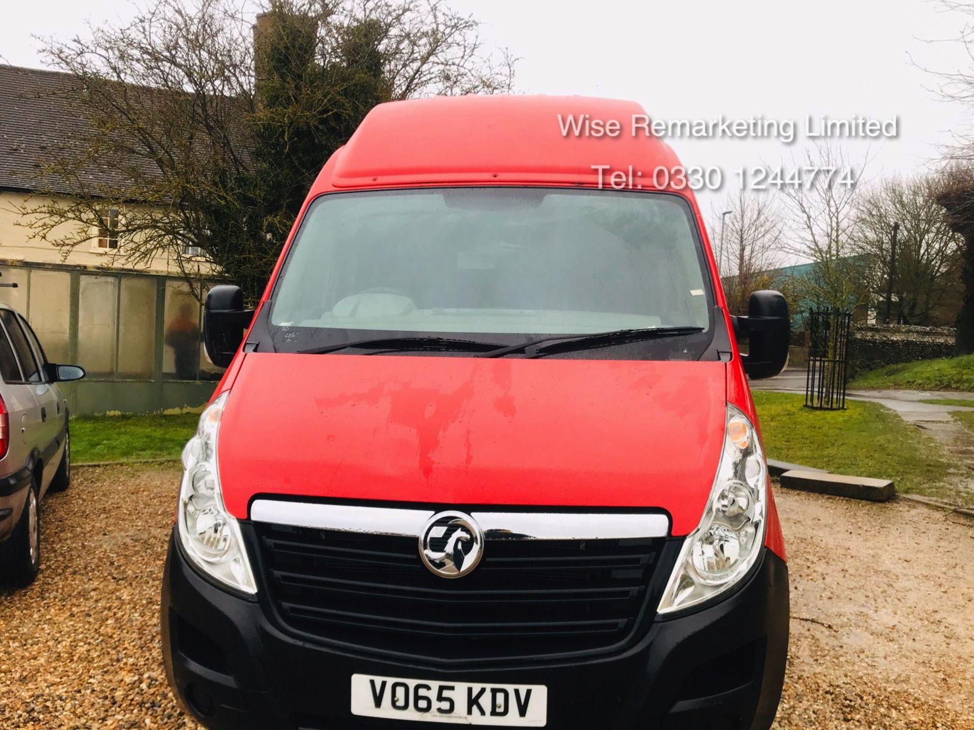 Lot 13 - Vauxhall Movano 35 2.3 CDTi BiTurbo EcoFlex **HIGH ROOF** 2016 Model - AIr con - 1 Owner - RARE