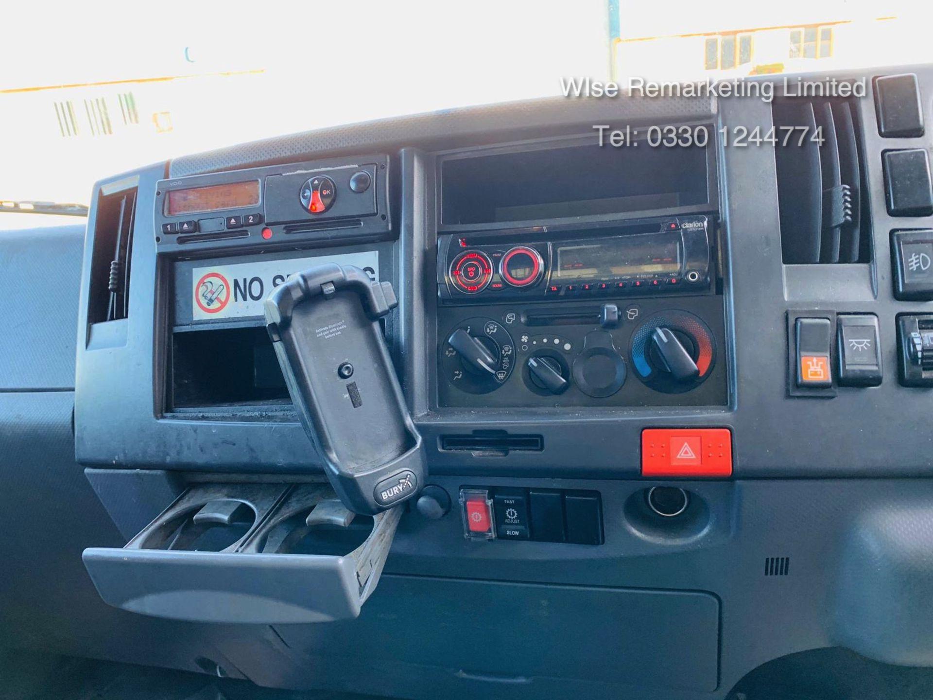 Lot 8 - (RESERVE MET) Isuzu N75.190 NPR Automatic 16ft Curtainsider - 2013 Model - 1 Owner - Long MOT