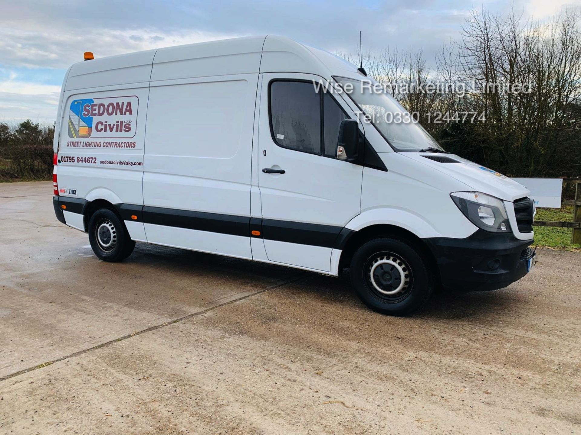 Lot 16 - Mercedes Sprinter 313 2.1 CDI - 2014 14 Reg - 6 Speed - Ply Lined - Company Owned