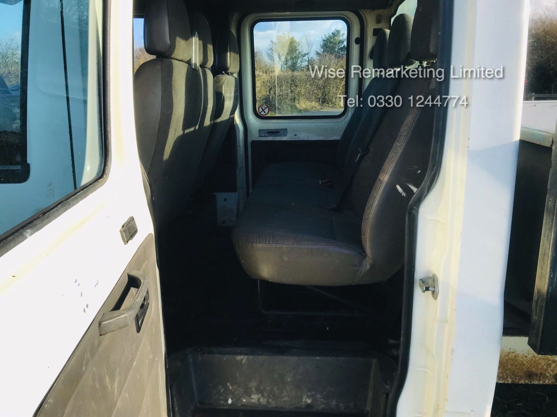 Lot 27 - Ford Transit 350 Crew Cab Tipper LWB - 2005 05 Reg - 6 Seater - SAVE 20% NO VAT