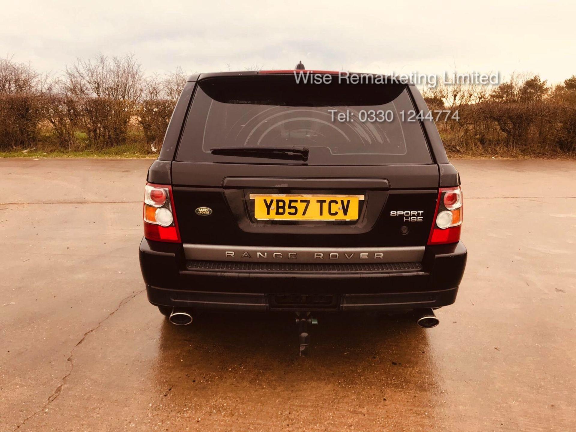 Range Rover Sport 2.7 TDV6 HSE Auto - 2008 Model - Cream Leather - Sat Nav - Heated Seats - Image 2 of 19