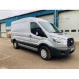 Ford Transit 350 2.2 TDCI Trend Van - 2015 Reg - Silver - 6 Speed - Ply Lined