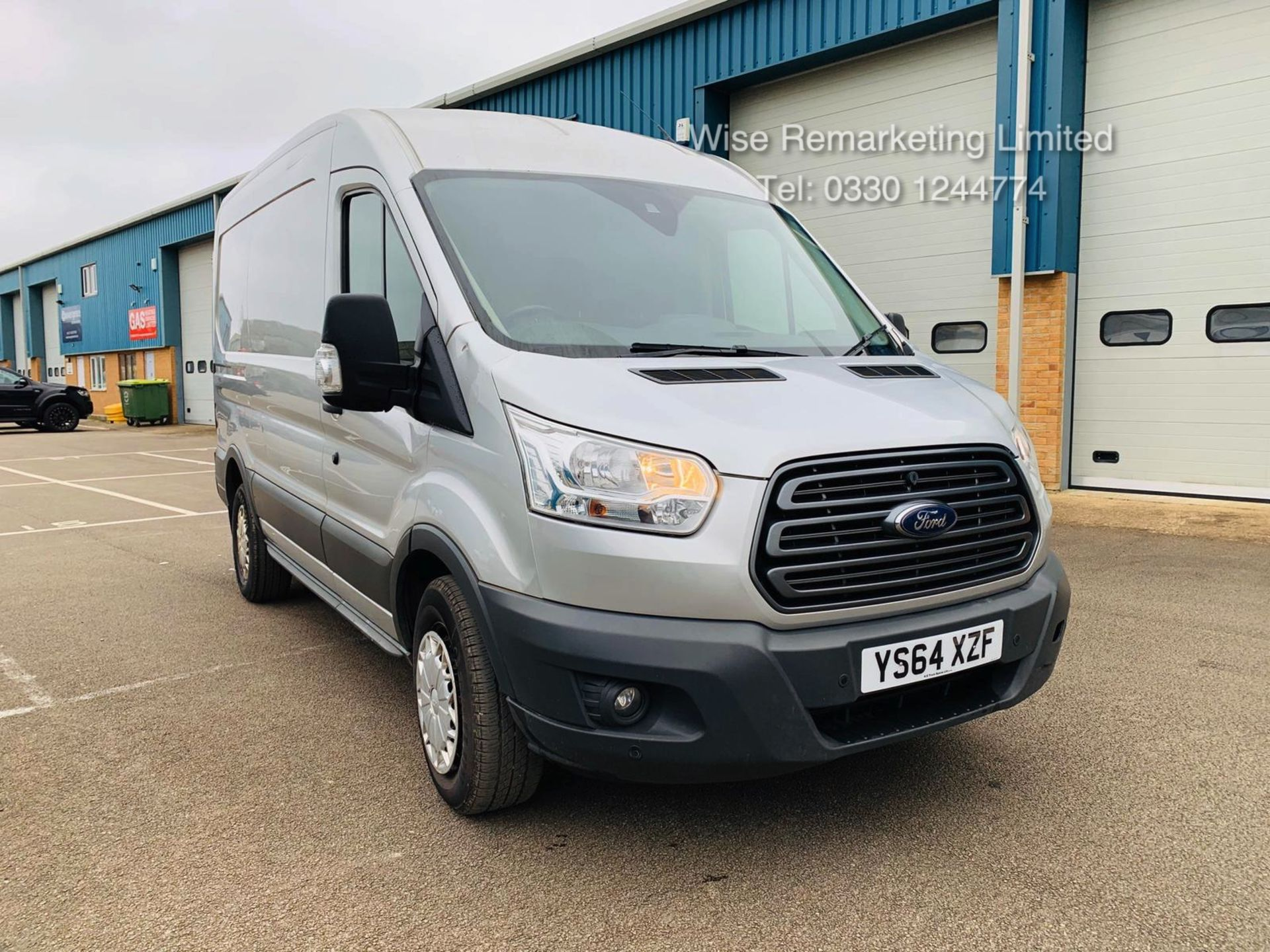 Lot 19 - Ford Transit 350 2.2 TDCI Trend Van - 2015 Reg - Silver - 6 Speed - Ply Lined