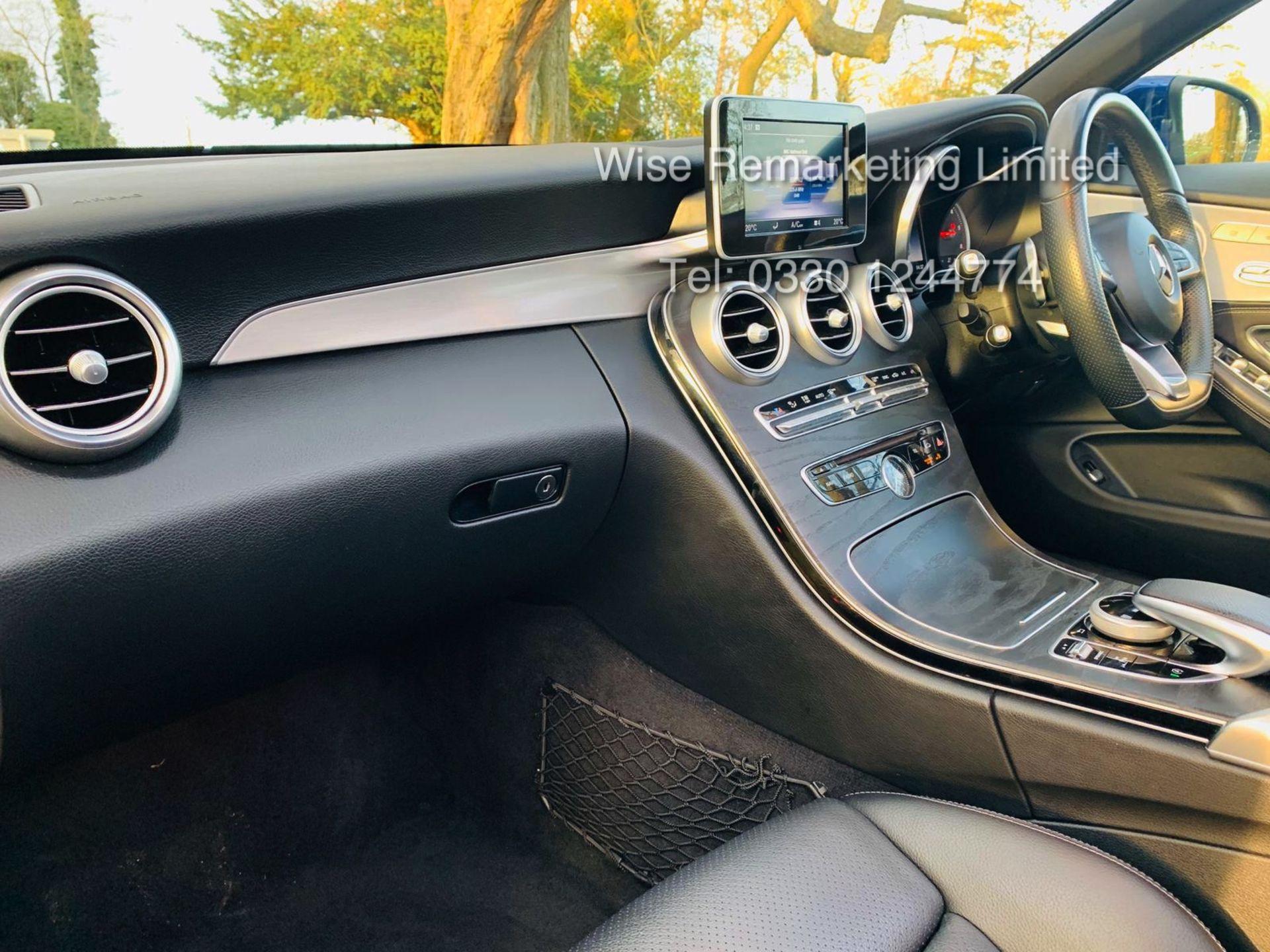 Lot 1 - Mercedes Benz C220d 2dr Convertible AMG Line Premium 9G Tip Tronic - 2018 18 Reg -15k Miles