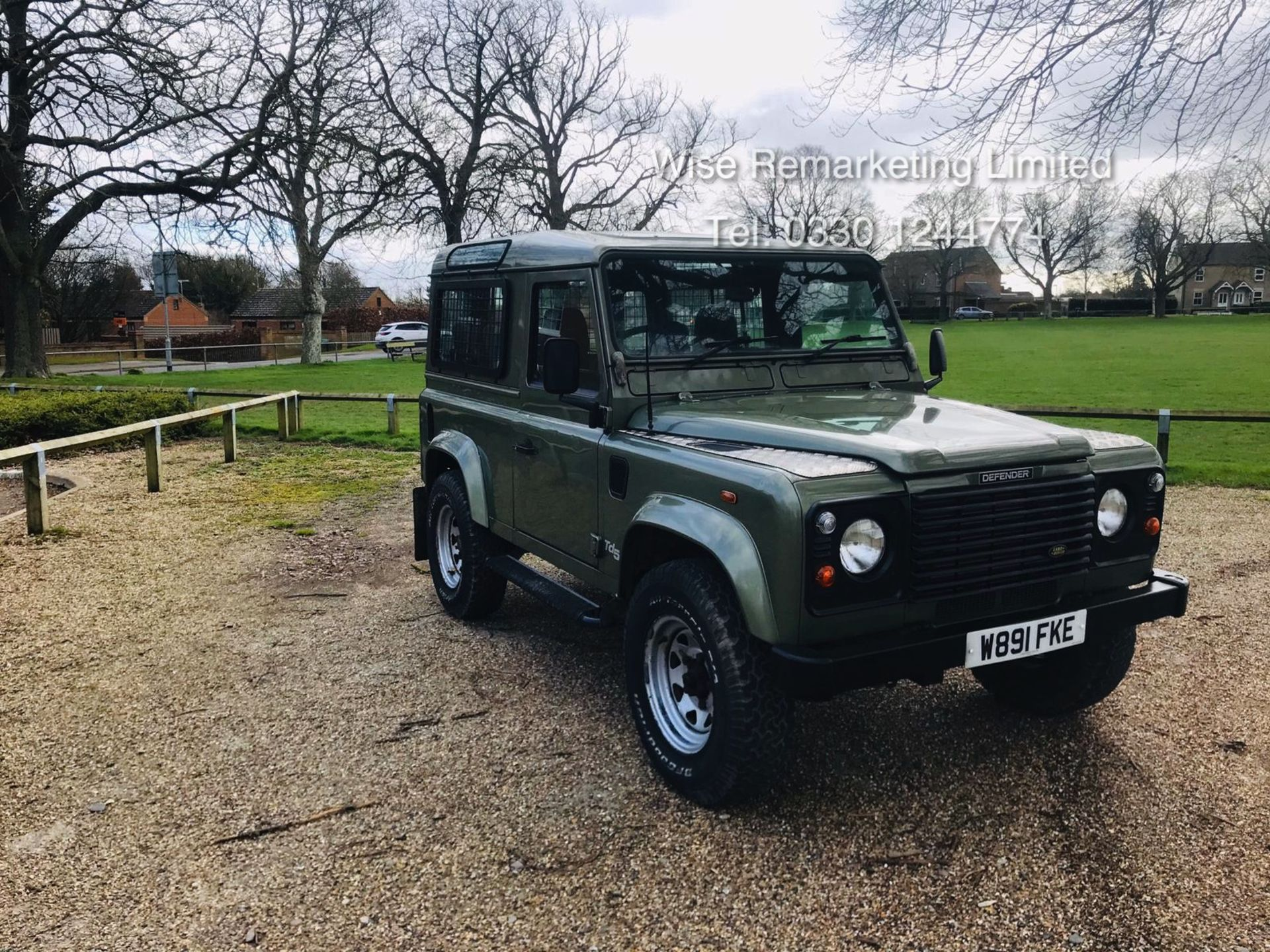 Lot 10 - (RESERVE MET) Land Rover Defender 90 County 2.5 TD5 - 2000 Year W Reg - 7 Seater- SAVE 20% NO VAT