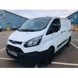 Ford Transit Custom 270 2.2 TDCI Eco-Tech - 2016 Model - 1 Keeper From New