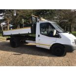 Ford Transit 350 2.4 TDCI Tipper - 2012 Model - 1 Keeper From New