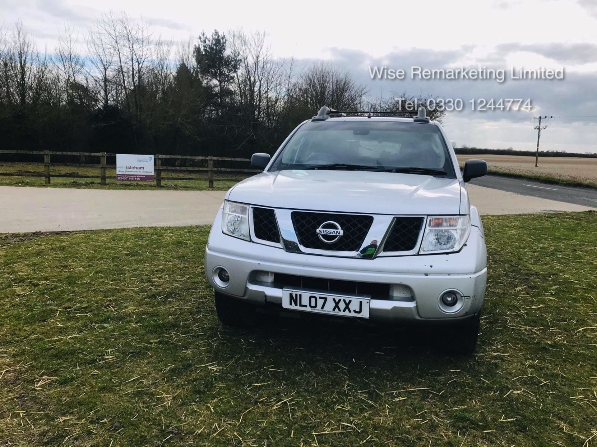 Lot 20 - Nissan Navara Aventura 2.5DCI Double Cab - 2007 07 Reg - 4x4 - SAVE 20% NO VAT