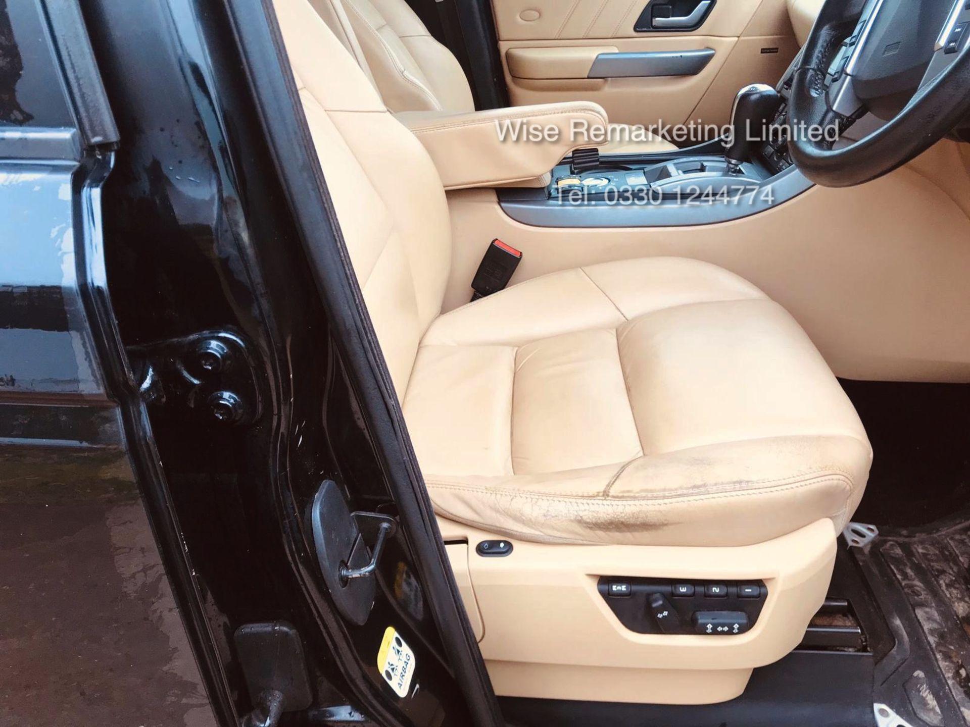 Range Rover Sport 2.7 TDV6 HSE Auto - 2008 Model - Cream Leather - Sat Nav - Heated Seats - Image 9 of 19
