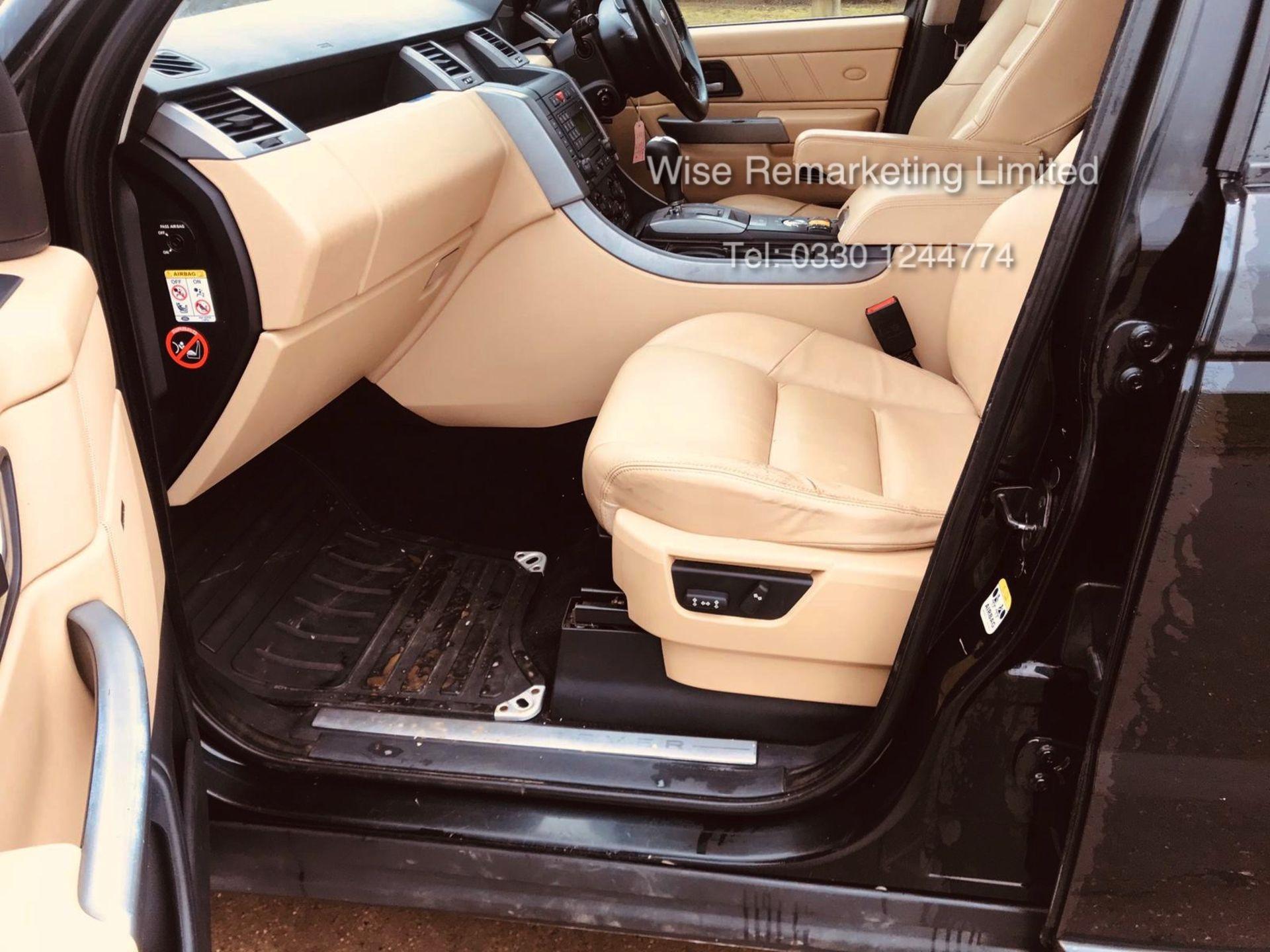 Range Rover Sport 2.7 TDV6 HSE Auto - 2008 Model - Cream Leather - Sat Nav - Heated Seats - Image 8 of 19