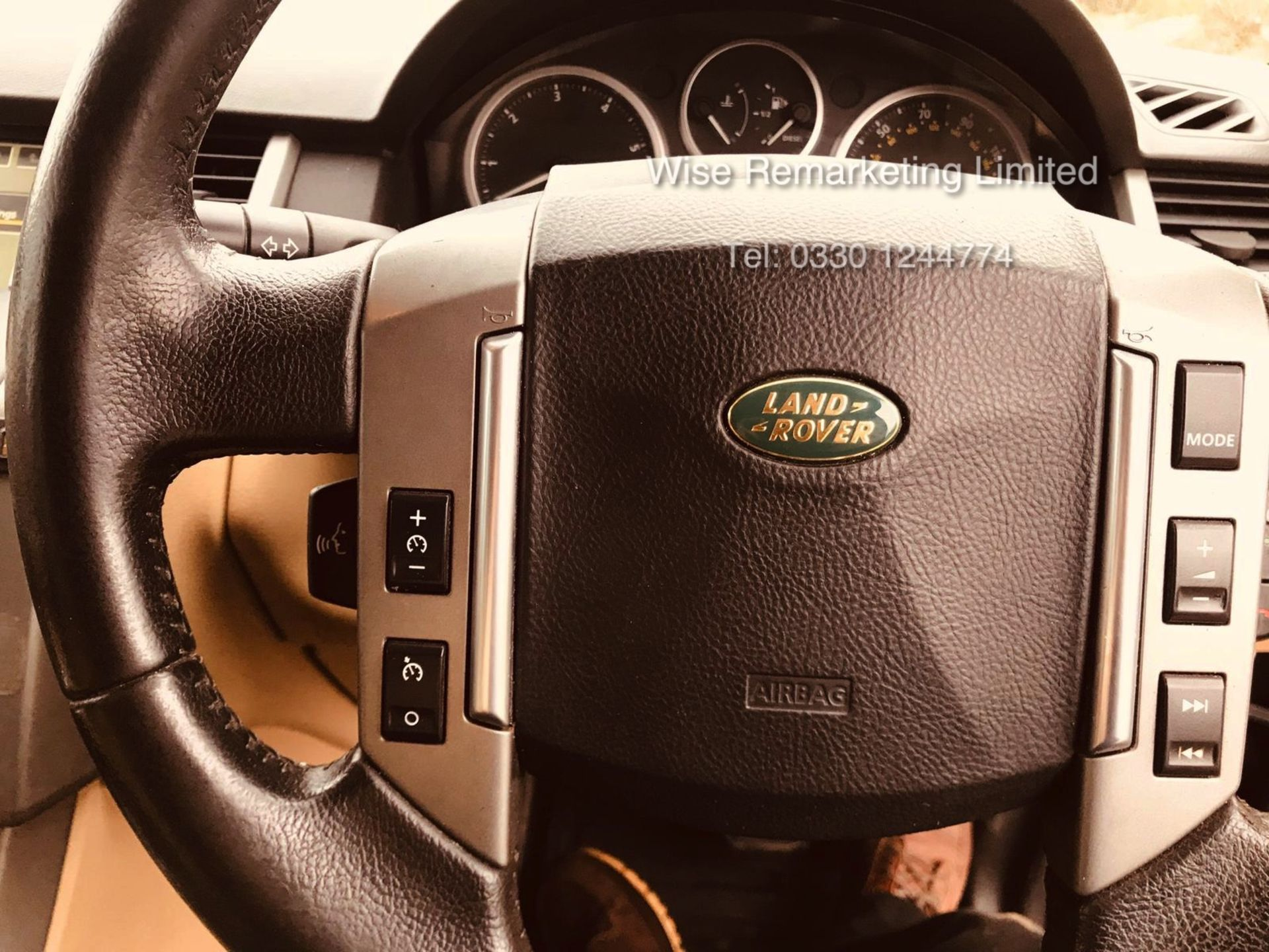 Range Rover Sport 2.7 TDV6 HSE Auto - 2008 Model - Cream Leather - Sat Nav - Heated Seats - Image 12 of 19