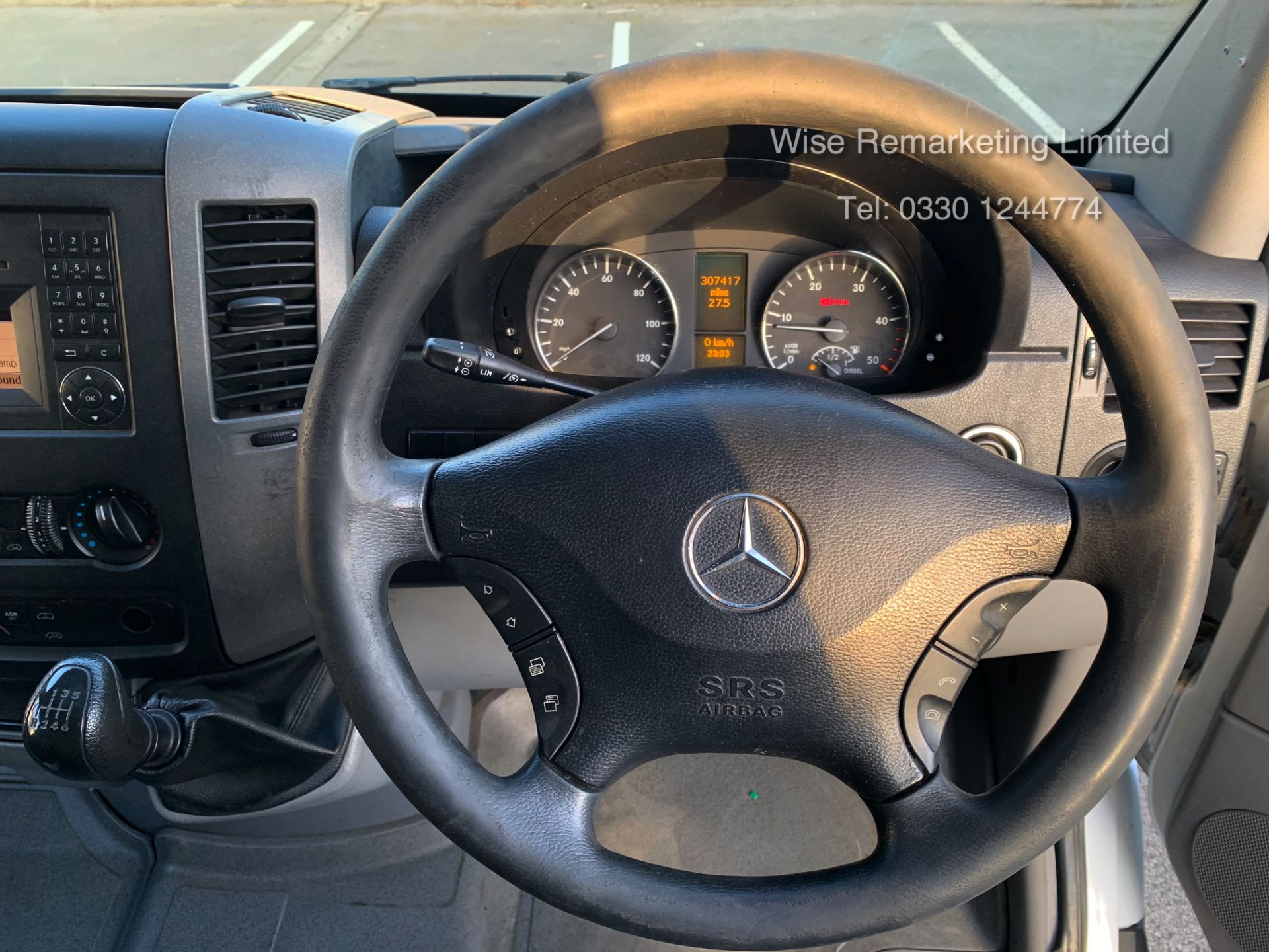 Lot 17 - Mercedes Sprinter 316 2.1 CDI Long Wheel Base High Roof Van - 2013 13 Reg -