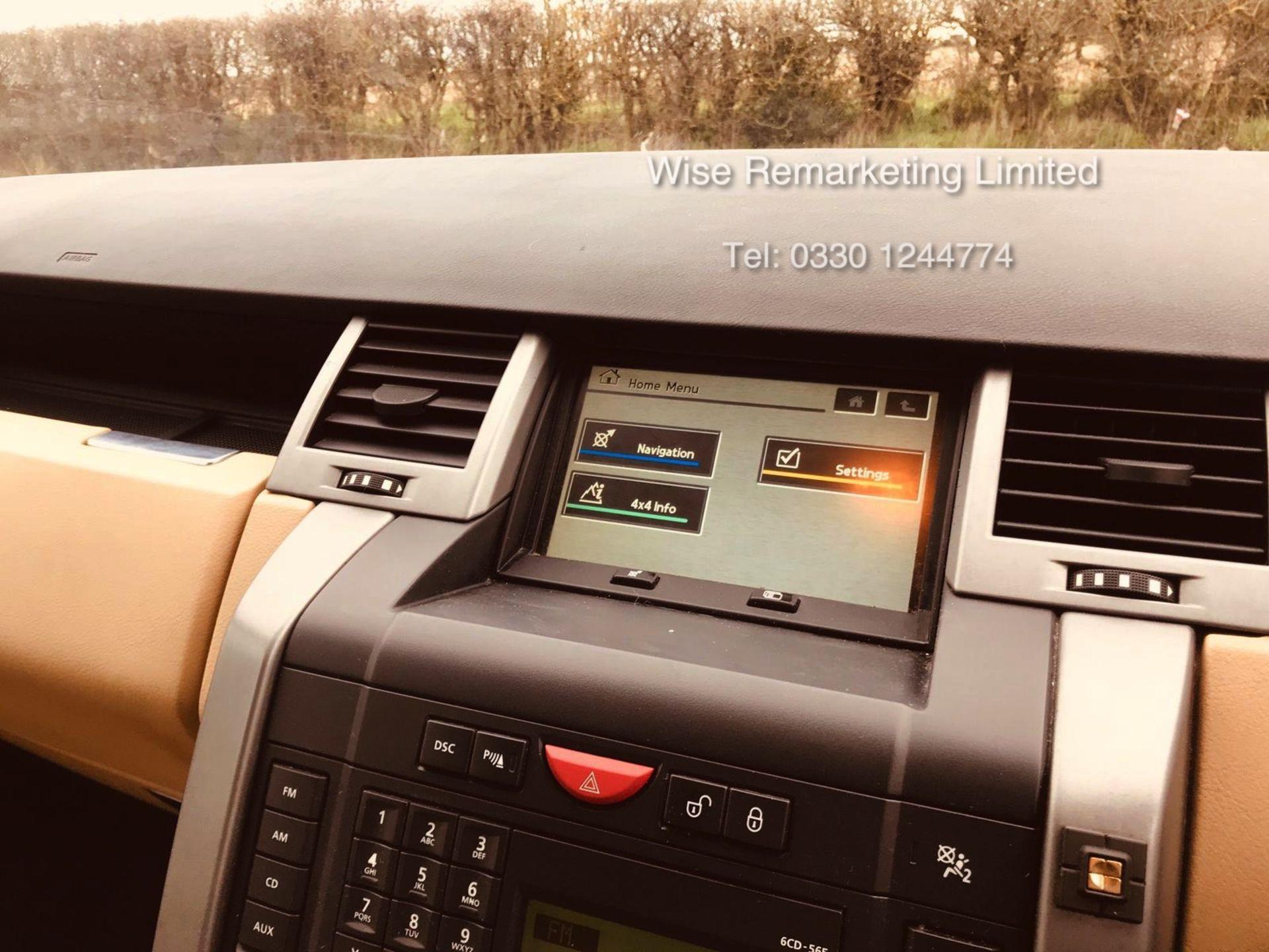 Range Rover Sport 2.7 TDV6 HSE Auto - 2008 Model - Cream Leather - Sat Nav - Heated Seats - Image 17 of 19