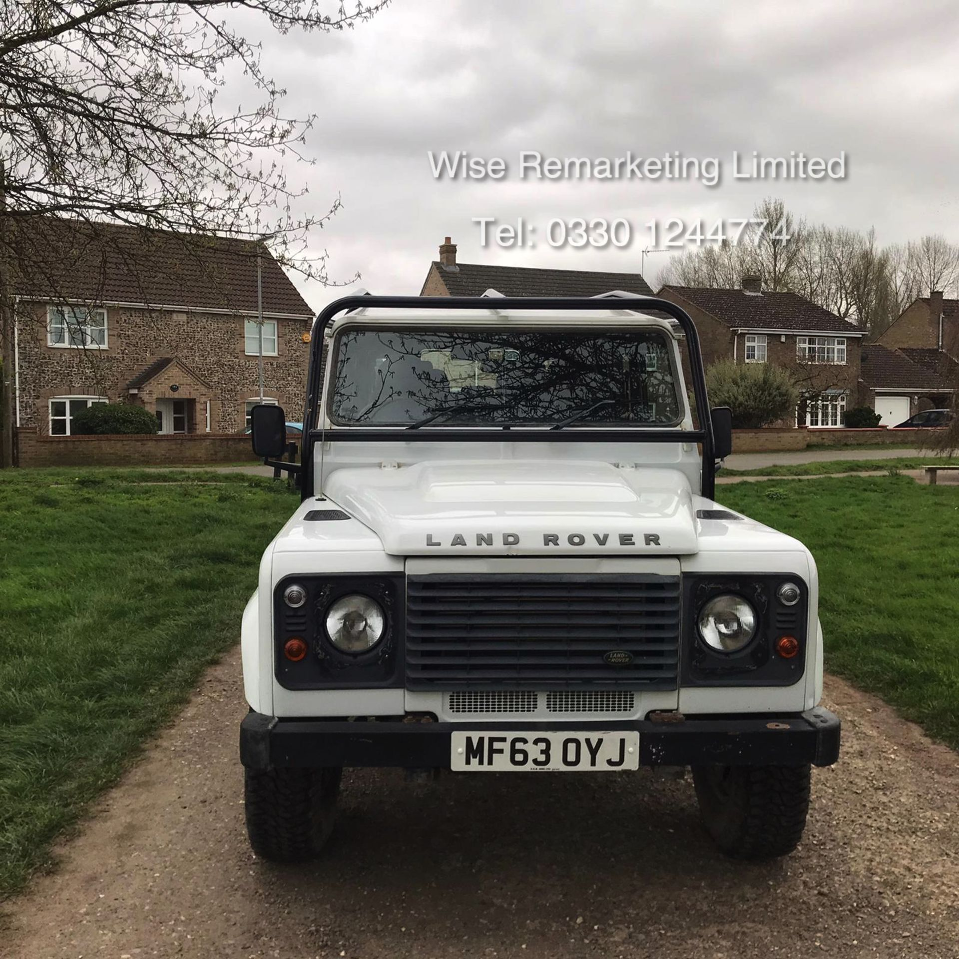 Lot 3a - Land Rover Defender 110 2.2 TD County Station Wagon - 2014 Model - 1 Owner From New - ONLY 19K Miles