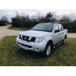 Nissan Navara Aventura 2.5DCI Double Cab - 2007 07 Reg - 4x4 - SAVE 20% NO VAT