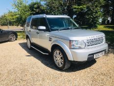 (RESERVE MET) Land Rover Discovery GS 3.0 SDV6 Auto - 2014 Model - 1 Keeper From New - 7 Seats -